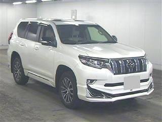 Toyota Prado TXL Pearl white full house