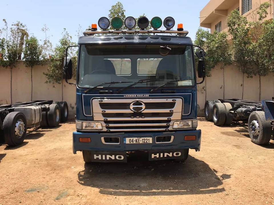 Hino FY Dumper Chassis